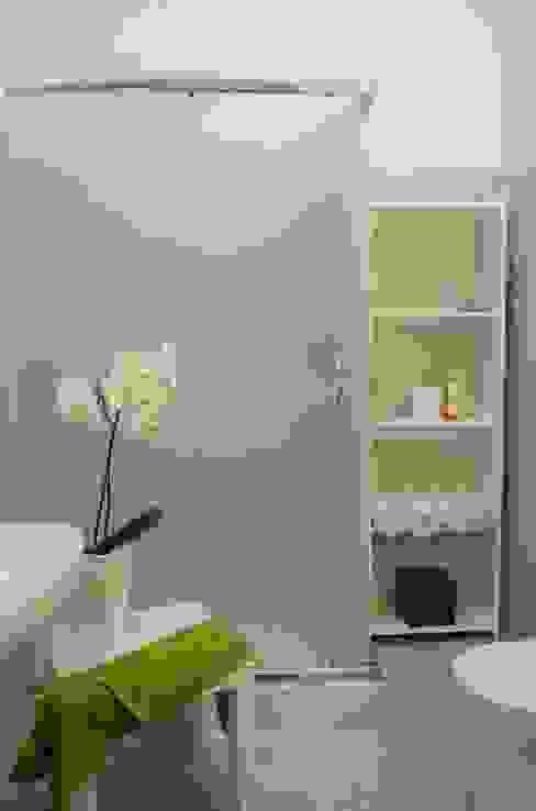 Il bagno rifatto ed allestito. Gabriella Pontis Bagno moderno