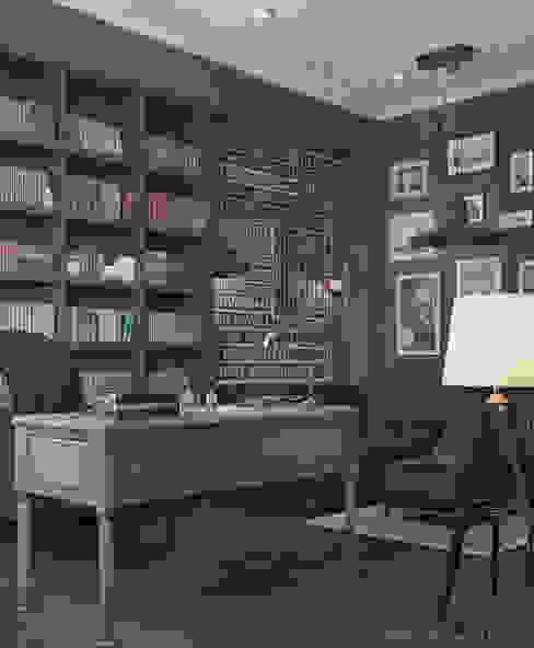 Oficinas de estilo clásico de ILKIN GURBANOV Studio Clásico