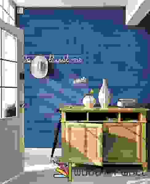 Pareti & Pavimenti in stile moderno di WoodMyWall Moderno