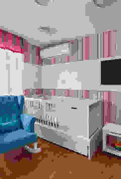 Quarto de bebê menina Quarto infantil moderno por homify Moderno