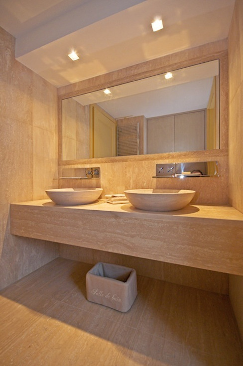 Casas de banho modernas por Francesca Bonorandi Moderno