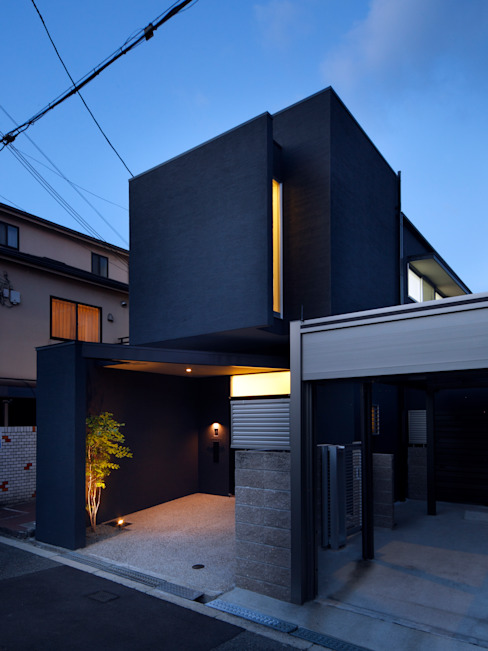 oriono no ie Modern home by atelier m Modern