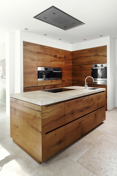 Country style kitchen by Förstl Naturstein Country