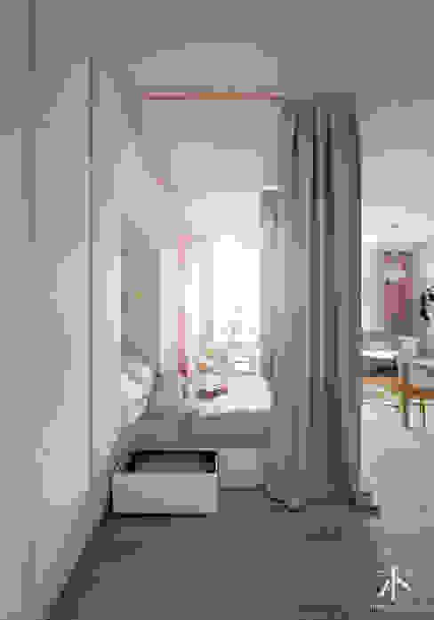 Schlafzimmer von Kamińska Stańczak, Skandinavisch