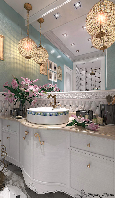 """Bathroom """"Provence"""" Ванная в классическом стиле от Your royal design Классический"""