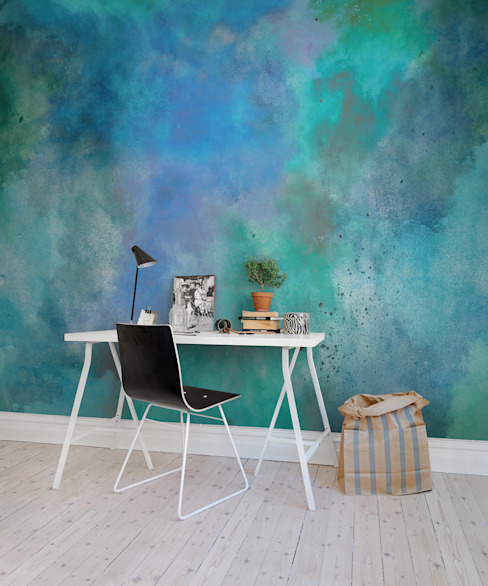 Colour Clouds de homify Escandinavo