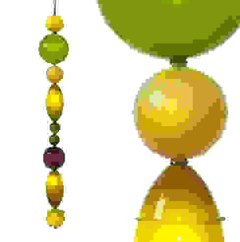 Muurbloem Design Studio Chandelier of Beads Special Muurbloem Design Studio WoonkamerVerlichting