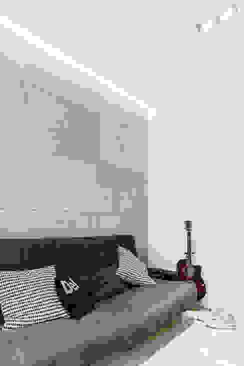 pokój syna: styl , w kategorii Pokój dziecięcy zaprojektowany przez Anna Maria Sokołowska Architektura Wnętrz ,Minimalistyczny