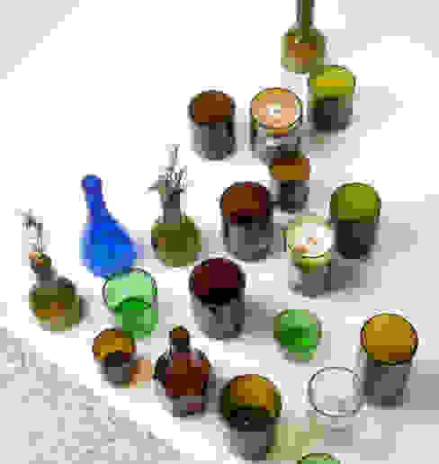 UPCYCLING BOTTLE GLASS: 0dot0의 현대 ,모던