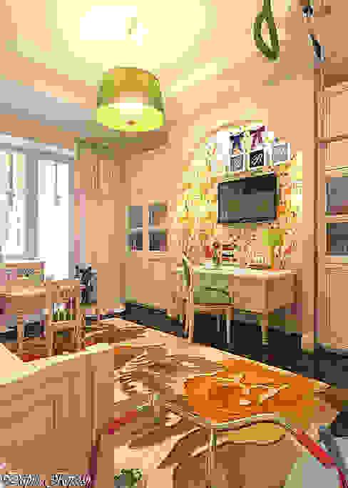 la chambre des enfants pour les filles Chambre d'enfant rurale par Your royal design Rural