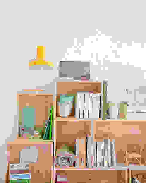 Caissons empilables en bois, petit modèle rectangulaire les petites emplettes Chambre d'enfantsRangements