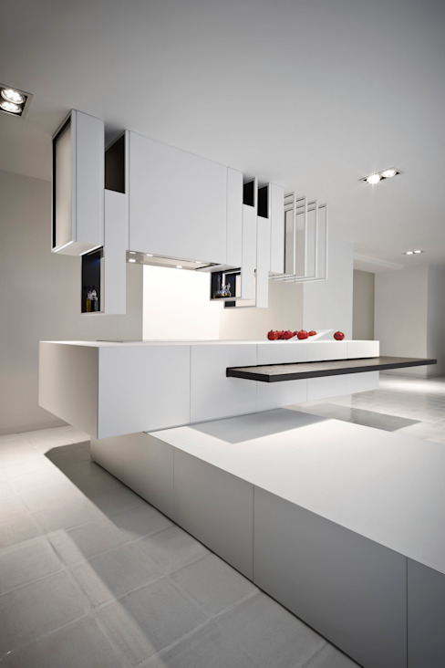 The Cut Kitchen por Alessandro Isola Ltd Moderno
