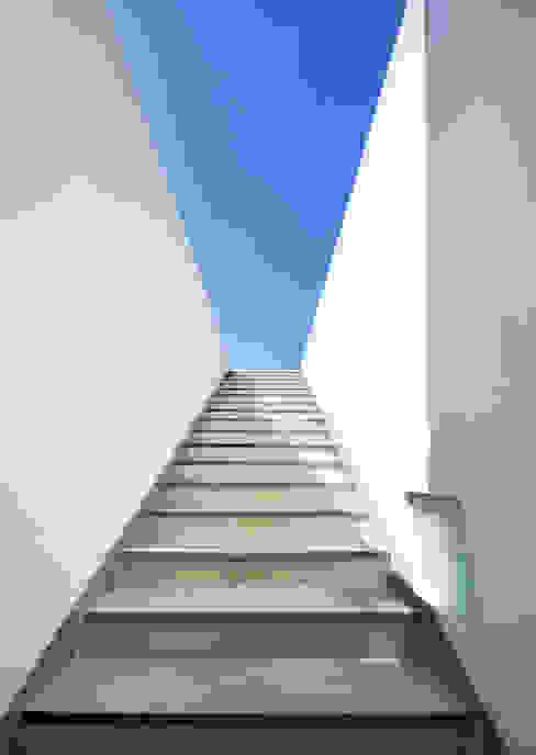 Pasillos y hall de entrada de estilo  por hyunjoonyoo architects