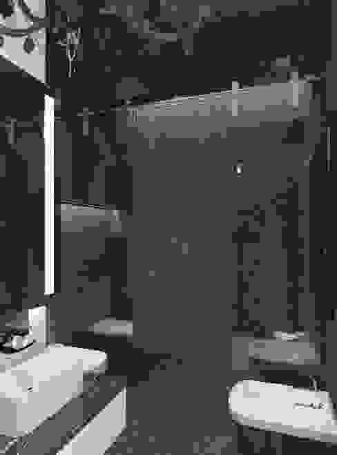 Английский квартал Ванная комната в эклектичном стиле от FEDOROVICH Interior Эклектичный