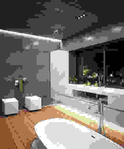 Minimalist style bathroom by Мастерская Grynevich Dmitriy Minimalist