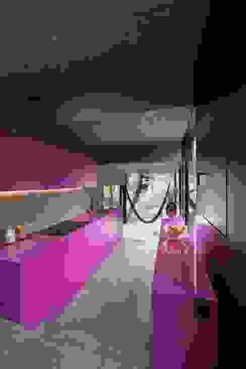 Wohnhaus Dielsdorf Moderne Küchen von L3P Architekten ETH FH SIA AG Modern