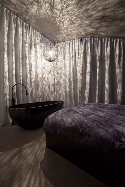 Slaapkamer door L3P Architekten ETH FH SIA AG, Modern