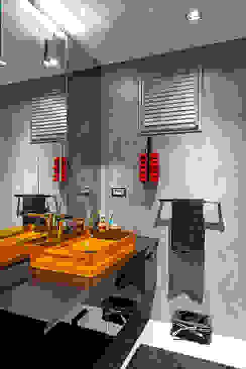 Baños de estilo  de Mimoza Mimarlık, Moderno