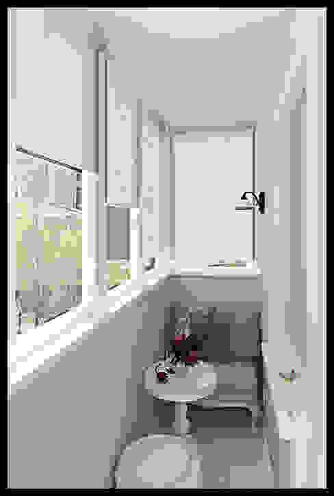 Балкон. Вид 1 Балкон и терраса в классическом стиле от Defacto studio Классический