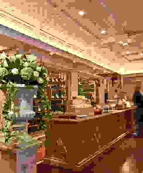 Gastronomie door Dreiklang® Hotelkonzepte mit Charakter,