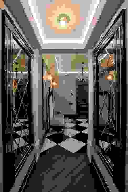 Pasillos, vestíbulos y escaleras de estilo moderno de Studio B&L Moderno