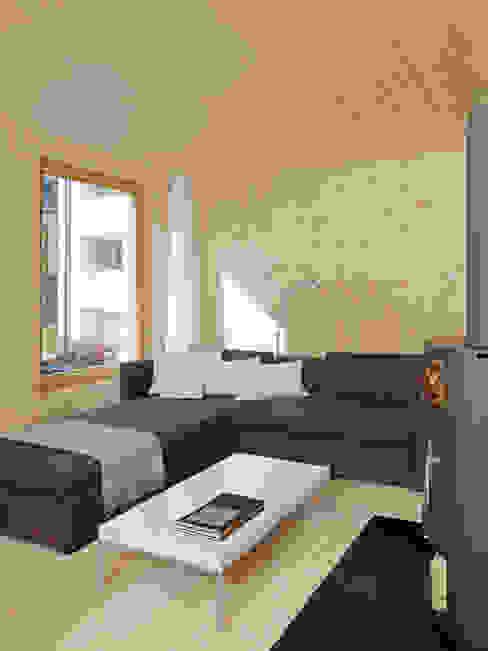 Haus Blarer Moderner Multimedia-Raum von Blarer & Reber Architekten Modern