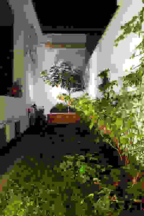 Loft ecologico a San Salvario, Torino Giardino in stile industriale di TRA - architettura condivisa Industrial