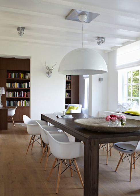 reitsema & partners architecten bna Country style dining room