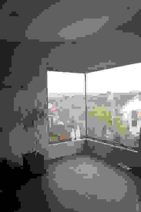 Neubau WOHNHAUS Minimalistische Wohnzimmer von di architekturbüro Minimalistisch