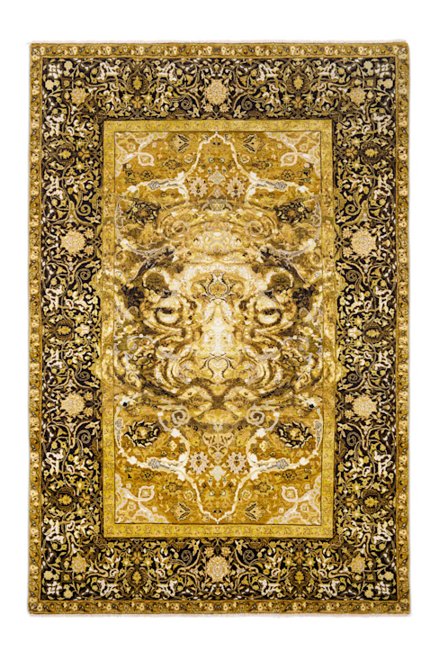 17th Century Modern Tiger de Knots Rugs Moderno