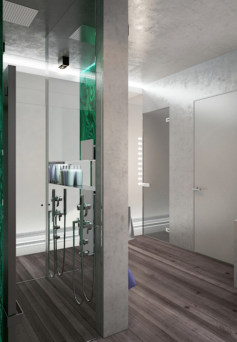 Бетон и другие катастрофы Ванная комната в стиле минимализм от FEDOROVICH Interior Минимализм