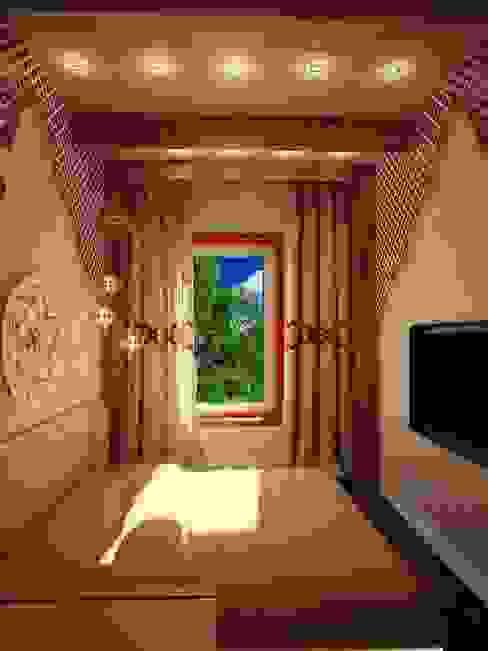 غرفة نوم تنفيذ Студия дизайна интерьера 'Золотое сечение',