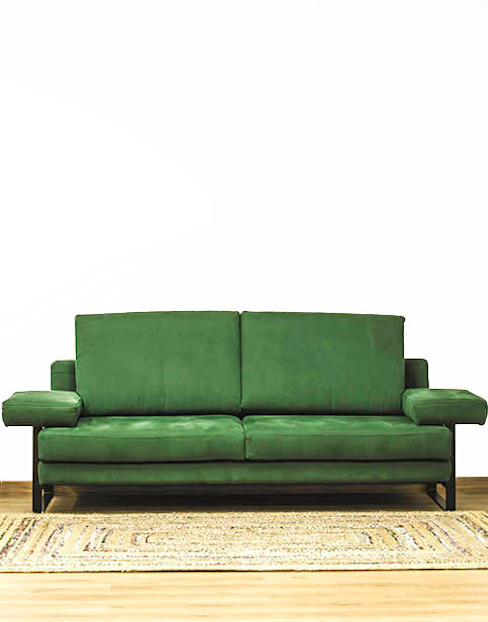 Sofá de tela sobre pletina de acero Cube Deco SalonesSofás y sillones