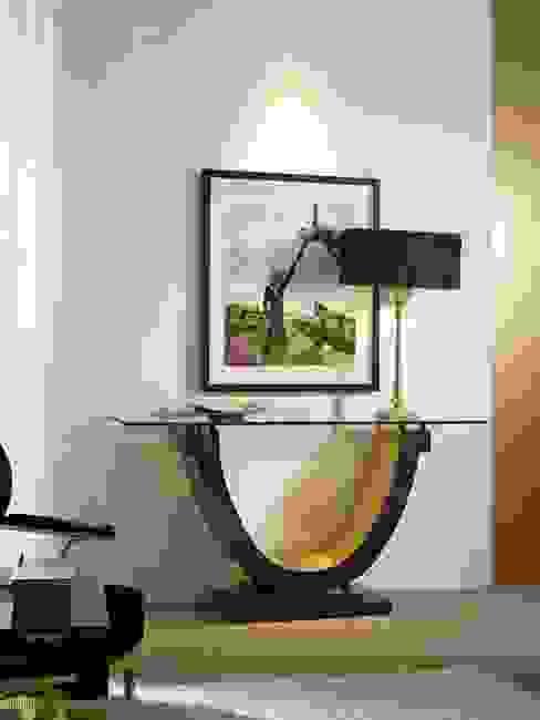 Consola Art Decó Eyon de Ámbar Muebles Moderno