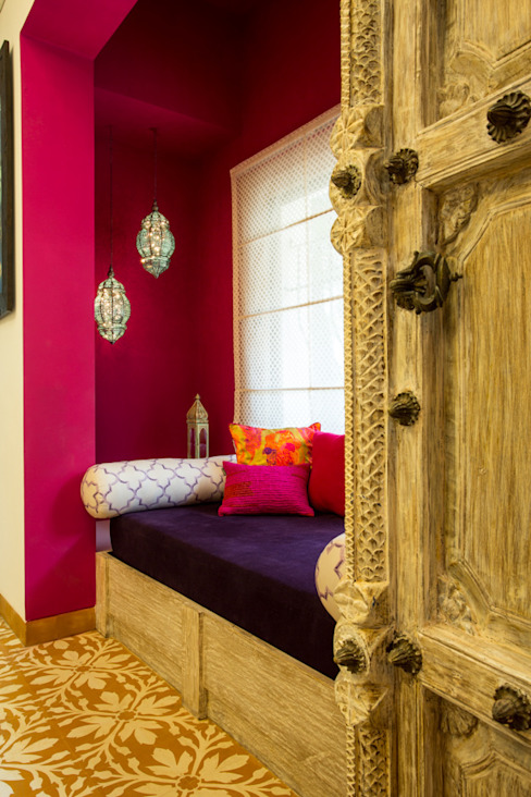 House in Pune: eclectic  by The Orange Lane,Eclectic