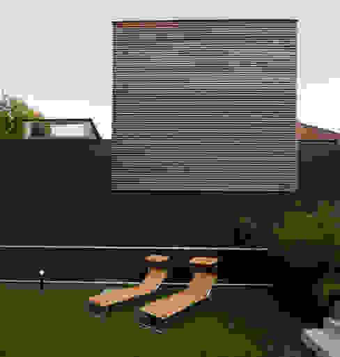 Photo Cecile Champy Maisons scandinaves par Fabienne Bulle architecte & associés Scandinave