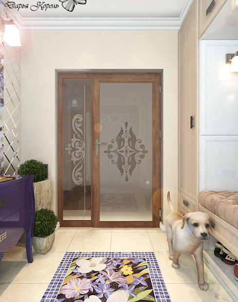 Corridor & hallway by Your royal design, Eclectic