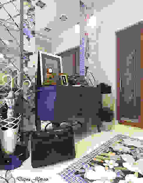 hall Коридор, прихожая и лестница в эклектичном стиле от Your royal design Эклектичный