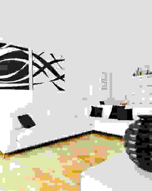 Black & White PAZdesign Soggiorno moderno