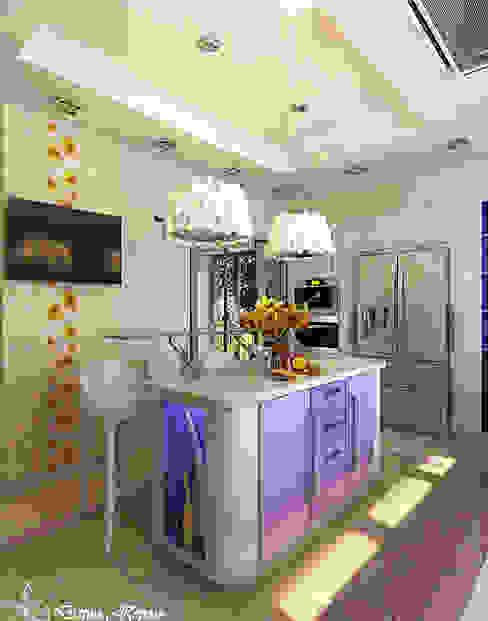 kitchen Кухни в эклектичном стиле от Your royal design Эклектичный
