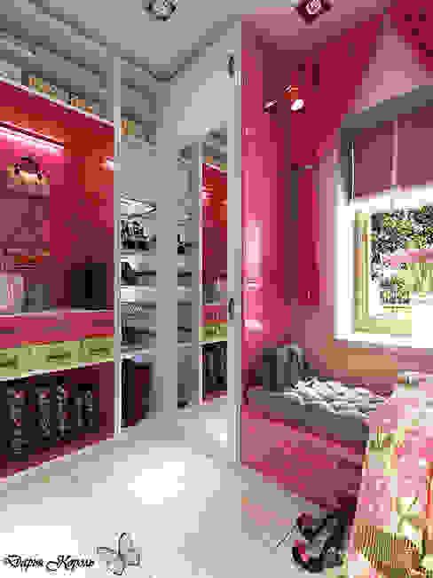 dressing room Гардеробная в эклектичном стиле от Your royal design Эклектичный