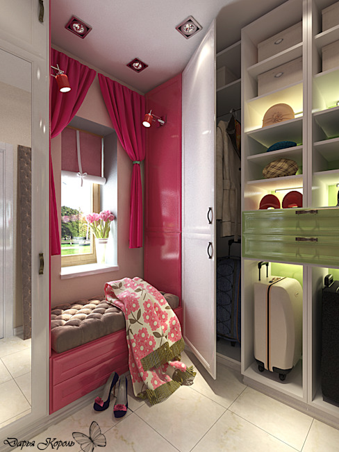 Eclectic style dressing room by Your royal design Eclectic