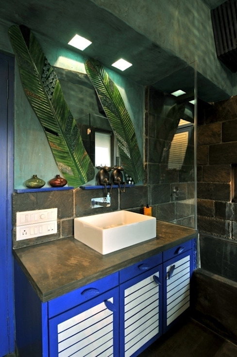 Single Living Modern bathroom by The Orange Lane Modern