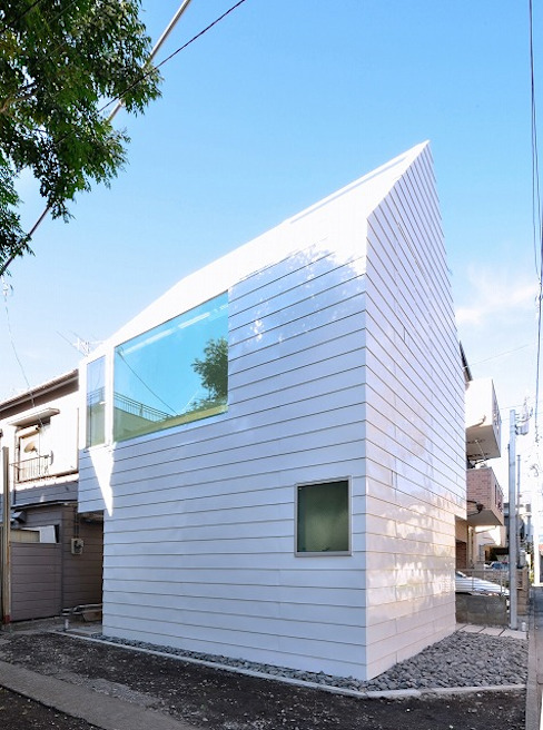 Minimalist houses by Niji Architects/原田将史+谷口真依子 Minimalist
