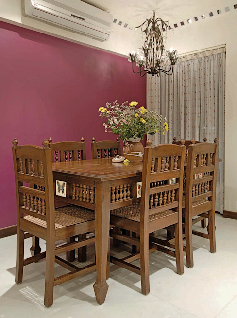 Colourful Living The Orange Lane Modern dining room