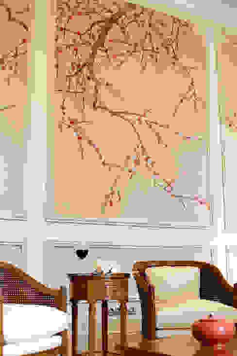Sadirac, Frankreich Wohnzimmer im Landhausstil von Oficina Inglesa Landhaus