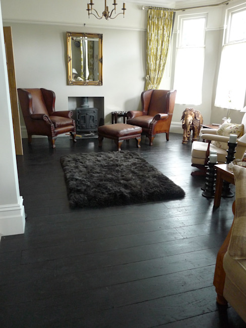 Living room by Chaunceys Timber Flooring, Modern