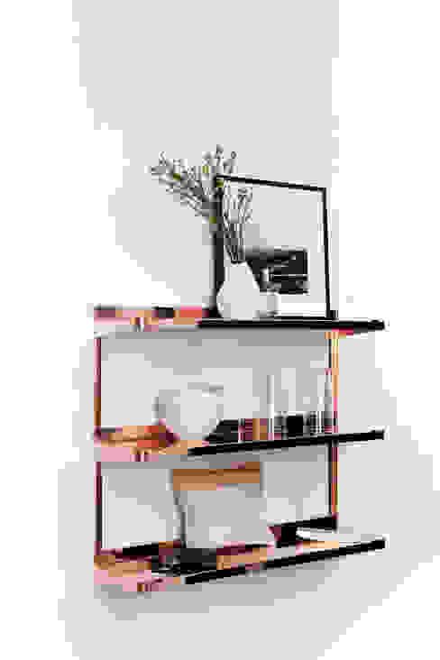 CLICK minimum einrichten GmbH Living roomShelves