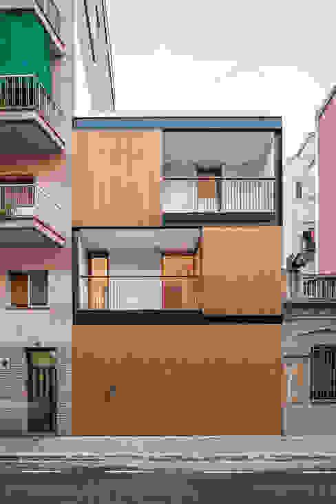 Casa CP Maisons minimalistes par Alventosa Morell Arquitectes Minimaliste
