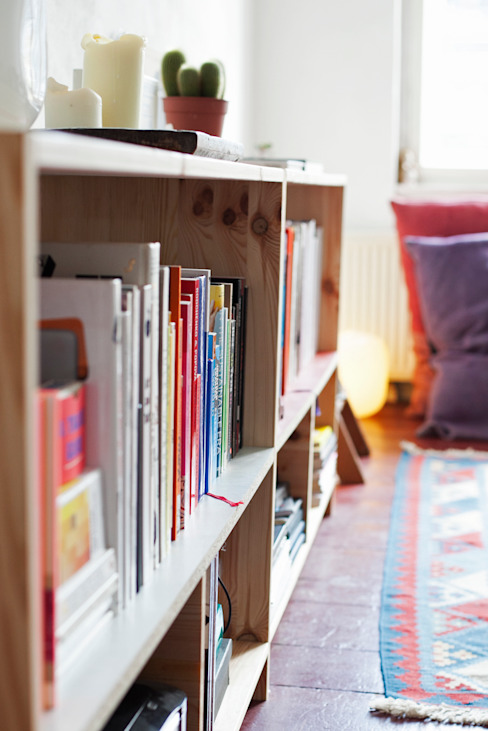 Books & Treasures Shelve Unit por Katleen Roggeman Minimalista